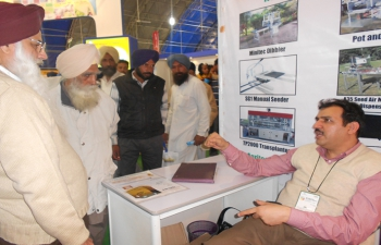 Customer interaction during trade fair